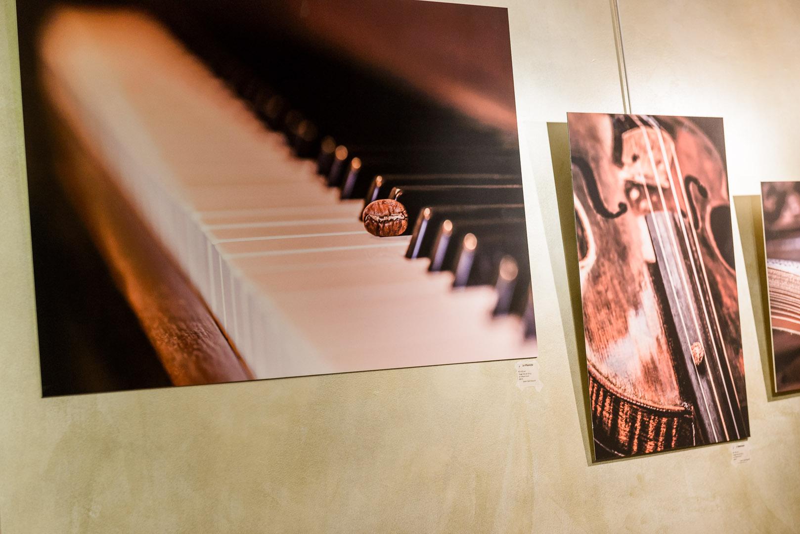 Le pianiste (gauche) et L'ébéniste (droite)