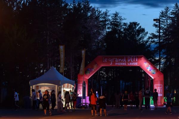 Les derniers coureurs sont arrivées à Trois-Rivières et l'heure est aux festivités...